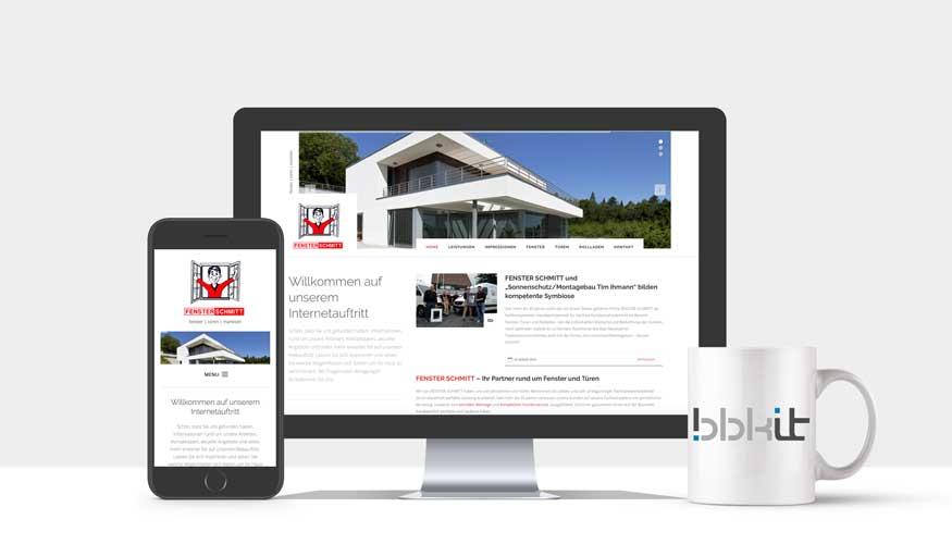 Webdesign Bad Neuenahr - Fenster Schmitt GmbH