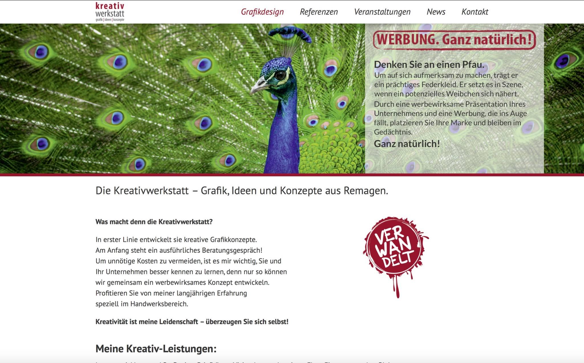 Webdesign Bad Neuenahr - Kreativwerkstatt