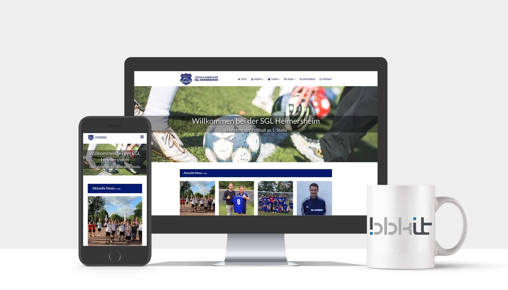 Webdesign Fußball Heimersheim Bad Neuenahr