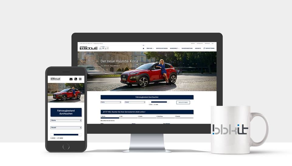 Autohaus Webdesign